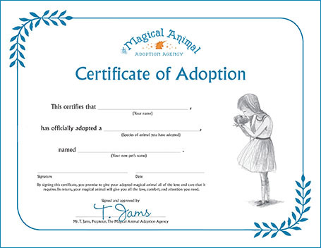 The Magical Animal Adoption Agency